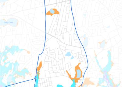 Figure 5-18: FEMA Flood Zones (2014) in Halls Creek Watershed
