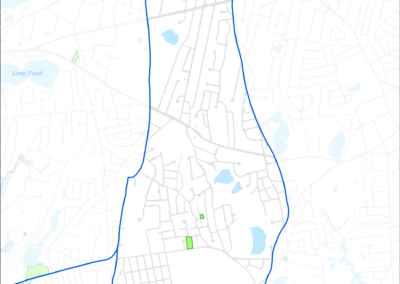 Figure 5-20: Parcels with I/A Septic Systems in Halls Creek Watershed