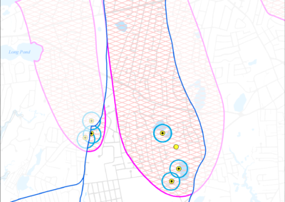 Figure 5-21: Public Water Supply Wells in Halls Creek Watershed