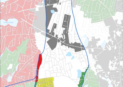 Figure 5-25: Sewer Expansion Plan in Halls Creek Watershed