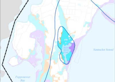 Figure 5-54: FEMA Flood Zones (2014) in Rushy Marsh Pond Watershed
