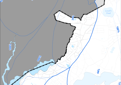 Figure 5-56: Popponesset Bay Watershed Boundary