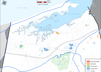 Figure 5-67: Barnstable Harbor Watershed