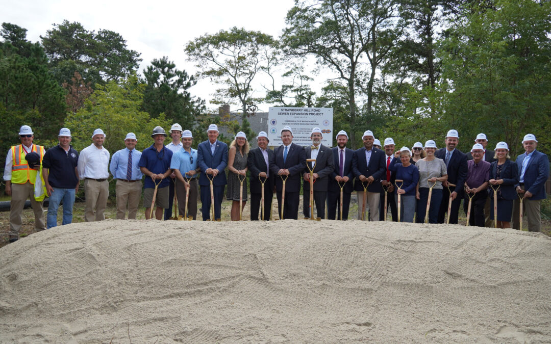 Keating, Cyr Join Officials in Marking Barnstable's Clean Water Milestone