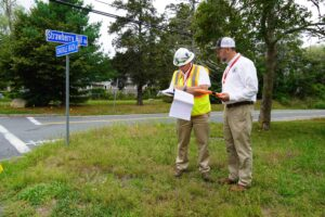 Town of Barnstable Strawberry Hill Rd. CWMP Project Team Paul Ruszala, P.E., Senior Project Manager and Construction Inspector Stephan Porter