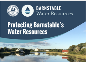 Protecting barnstable Water Resources Logo and header image of the Centerville river